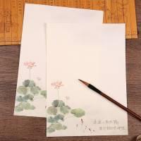 Papier à lettre japonais Lotus