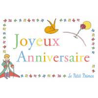 Carte Citation Le Petit Prince Joyeux Anniversaire Le Renard