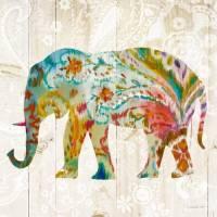 Carte vintage Danhui Nai Elephant Boho indien