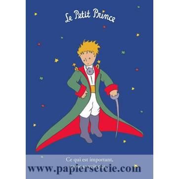 """Grande Carte Le Petit Prince """"Ce qui est important, ça ne se voit pas"""""""