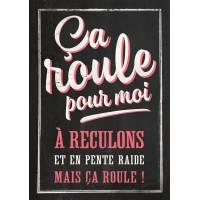 """Carte Humour Vintage Ca roule pour moi..."""""""