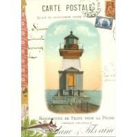 Carte d'art Gwenaëlle Trolez Phare Summerville