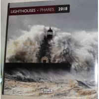 Calendrier 2018 30 x 30 Phares du Monde