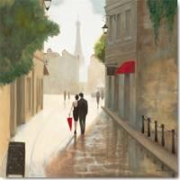 Carte vintage Marco Fabiano Paris Romance Nuages et soleil