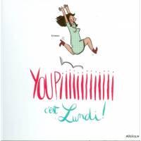 "Carte Mathou ""Youpiiiiiii c'est Lundi!"""
