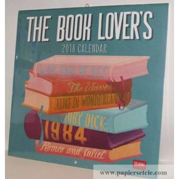 """Calendrier 2018 LEGAMI 30 x 30 """"The Book Lover's"""""""