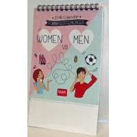 "Calendrier 2018 LEGAMI 12 x 14,5  ""Women VS Men"""