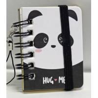 "Mini carnet 100 pages LEGAMI ""Hug Me"""