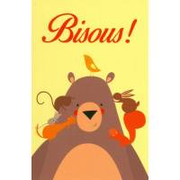 Carte Alice de Page Bisous mon Nounours!