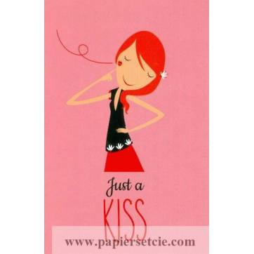 Carte Alice de Page Just a Kiss