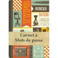 Carnet à mots de passe Gwenaëlle Trolez Bureau Vintage