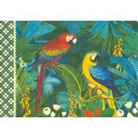 Carnet Livre d'Or Gwenaëlle Trolez Perroquets