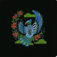 Carte double Marie-Pierre Emorine l' Oiseau bleu