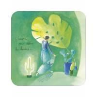 """Carte Anne-Sophie Rutsaert """"L'amour pour sécher les armes"""""""