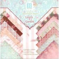 Papier Origami  et Scrapbooking Feuilles assorties Lovely Garden
