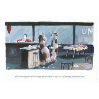 Carte humoristique Olivier Tallec Les vaches