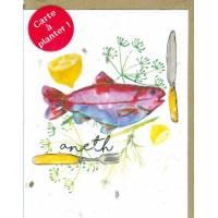 Carte à planter Hannah Marchant Recette graines d'Aneth