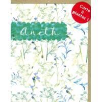Carte à planter Hannah Marchant Feuilles Aneth