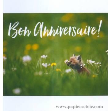 Joyeux Anniversaire Pierre-Jean -carte-petit-renard-bon-anniversaire