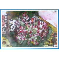 Set de Table Poster de Marion Kerignard  Belle Ile Buisson de Roses